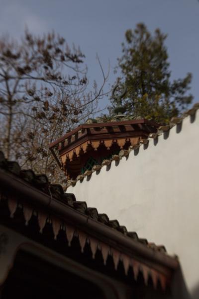 восточные крыши