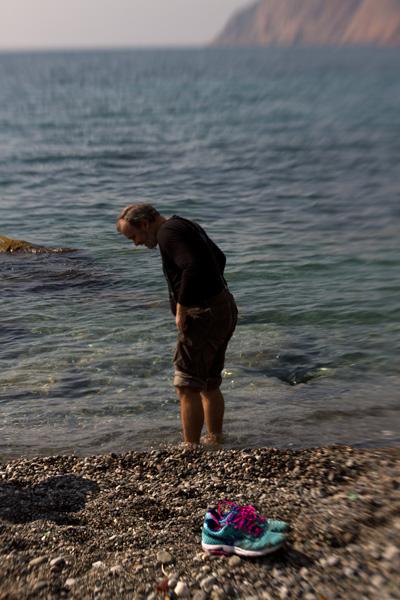 Олег.море.март