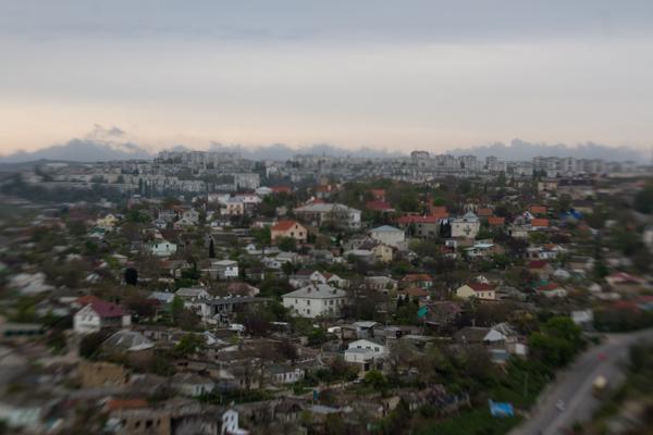 вид на северную сторону Севастополя