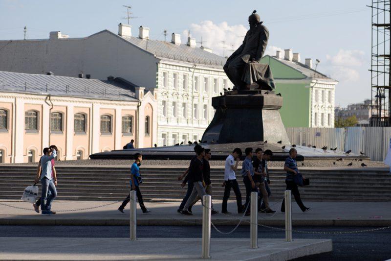 Достоевский и туристы